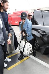 Katherine Langford at LAX Airport 05/09/2017