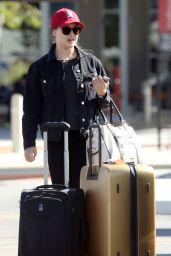 Katherine Langford at Perth Airport in Perth, Western Australia 05/16/2017