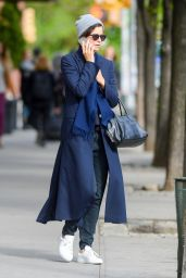 Katherine Waterston Street Style - Out in New York 05/08/2017