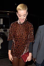 Katy Perry at China Tang Restaurant in London, UK 05/24/2017