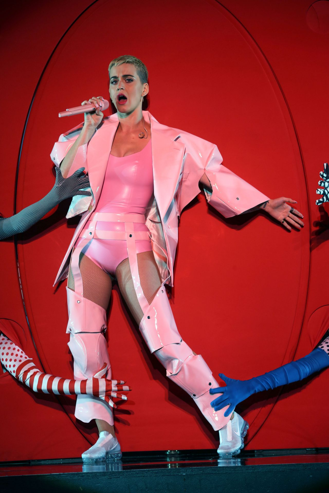 Katy Perry Performs At The You Tube Up Fronts In New York