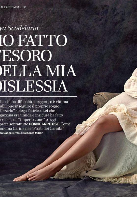 Kaya Scodelario - Io Donna May 2017