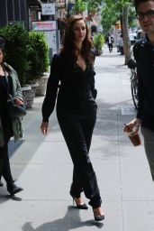 Kaya Scodelario - Leaving the Bowery Hotel in NYC 05/24/2017