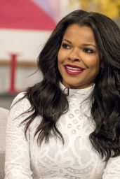 "Keesha Sharp - ""Lorraine"" TV Show in London 05/31/2017"