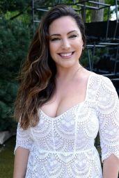 Kelly Brook at the Chelsea Flower Show in London, UK 05/22/2017