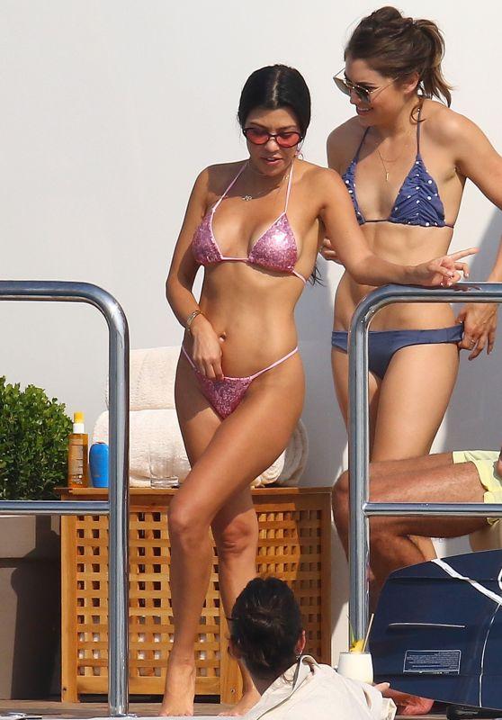 Kendall Jenner and Kourtney Kardashian - My Saint Nicolas Yacht in Antibes 05/25/2017