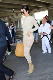 Kendall Jenner - Arrives at Nice Airport for the 70th annual Cannes Film Festival 05/19/2017