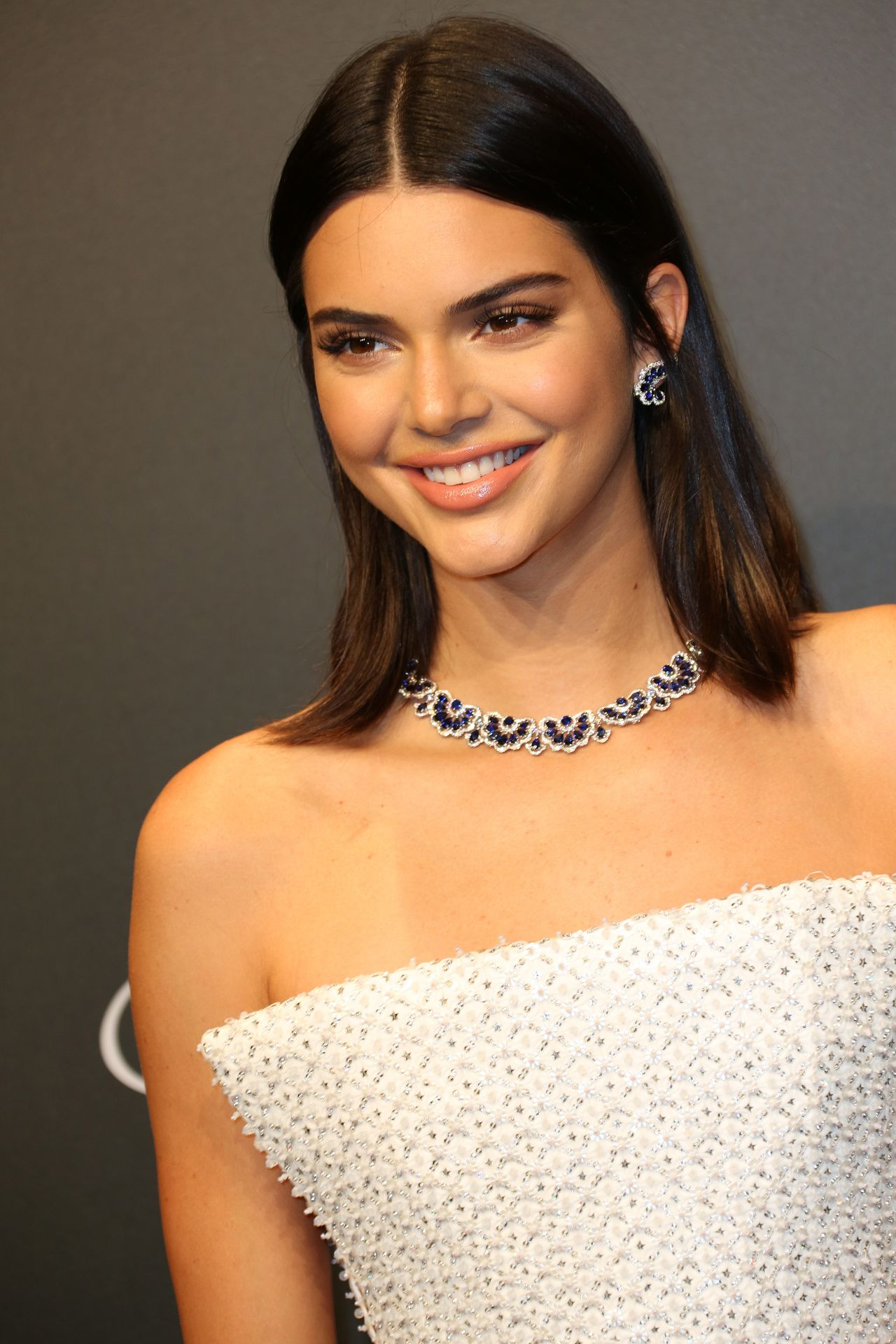 Kendall Jenner Chopard Space Party Cannes France 31 Kylie Minogue Poses Wax Figure