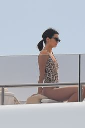 Kendall Jenner in Swimsuit on a Yacht in Antibes, France 05/22/2017