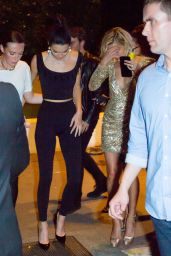 Kendall Jenner, Kourtney Kardashian & Hailey Baldwin at Gotha Club and VIP Room in Cannes 05/24/2017