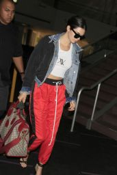Kendall Jenner Urban Outfit - LAX Airport in LA 05/30/2017