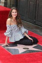 Keri Russell - Gets Honored With a Star at The Hollywood Walk Of Fame 05/30/2017