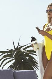 Khloe Kardashian in Swimsuit - Protein World Promo Photos, May 2017