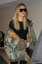 Khloe Kardashian - Los Angeles International Airport 05/08/2017