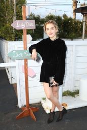 Kiernan Shipka Attends Dior Dinner in Los Angeles 05/10/2017