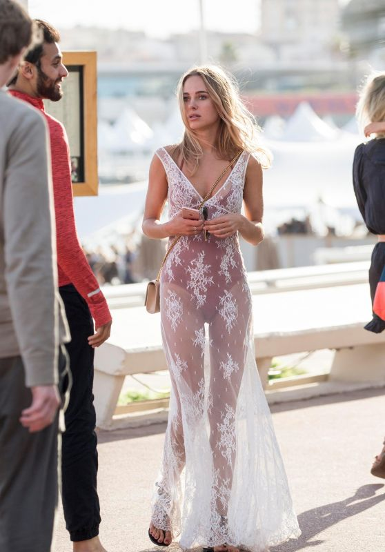 Kimberley Garner - Out in Cannes, France 05/22/2017