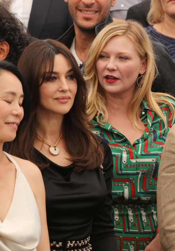 Kirsten Dunst and Monica Bellucci at 70th Anniversary Photocall – Cannes Film Festival 05/23/2017
