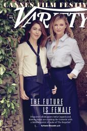 Kirsten Dunst and Sofia Coppola - Variety Magazine May 2017 Issue