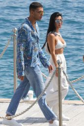 Kourtney Kardashian at Eden Roc Hotel in Antibes, France 05/24/2017