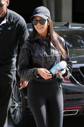 Kourtney Kardashian in Tights - Leaving Art Class in Los Angeles 05/30/2017
