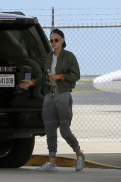 Kristen Stewart at the Airport in New Orleans, Louisiana 05/29/2017