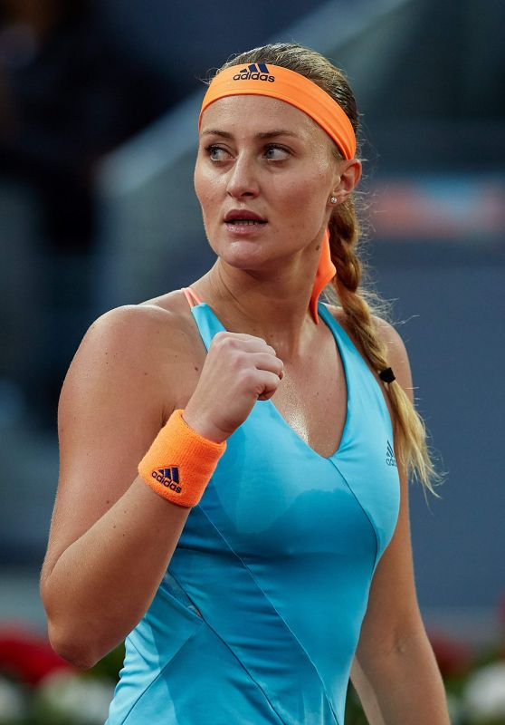 Kristina Mladenovic - Mutua Madrid Open Tennis, May 2017