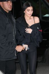Kylie Jenner - Leaving The Mercer Hotel in Manhattan 04/30/2017