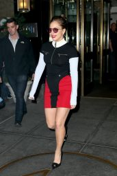 Lady Gaga - Leaves Her Hotel in NYC 05/15/2017
