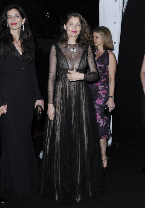 Laetitia Casta at 70th Anniversary Dinner – Cannes Film Festival 05/23/2017