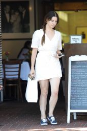 Lana Del Rey at Mauro Cafe in Los Angeles 05/24/2017