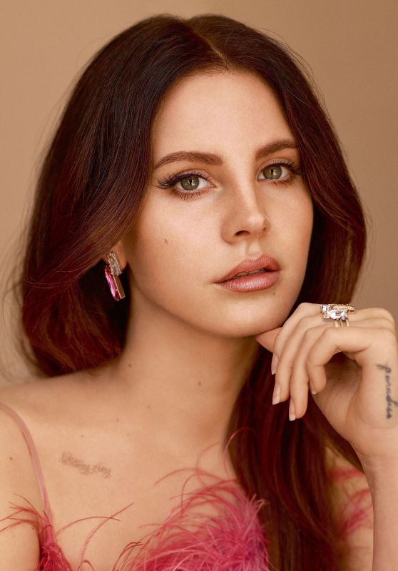 Lana Del Rey - ELLE UK Magazine June 2017 Photos