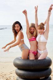 Larsen Thompson in Bikini - Hollister Swimwear Summer 2017