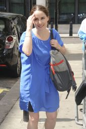 Laura Fraser at BBC Radio 2 in London, UK 05/27/2017
