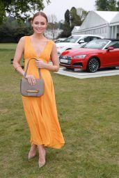 Laura Haddock – Audi Polo Challenge at Ascot, UK 05/06/2017