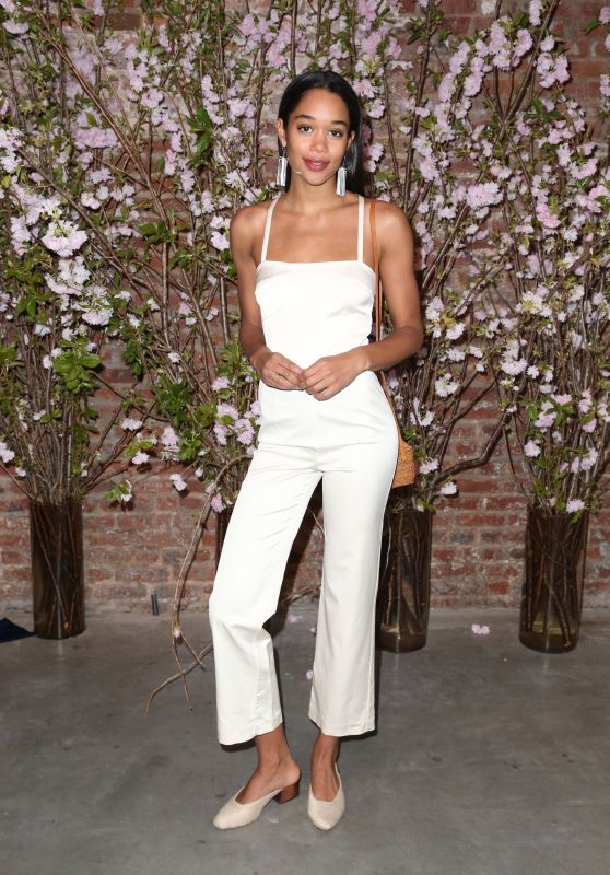 Laura Harrier - Pioneer Works Village Fete in New York 04/30/2017