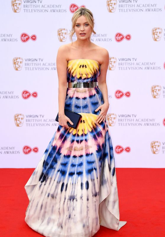 Laura Whitmore - BAFTA Television Awards in London 05/14/2017