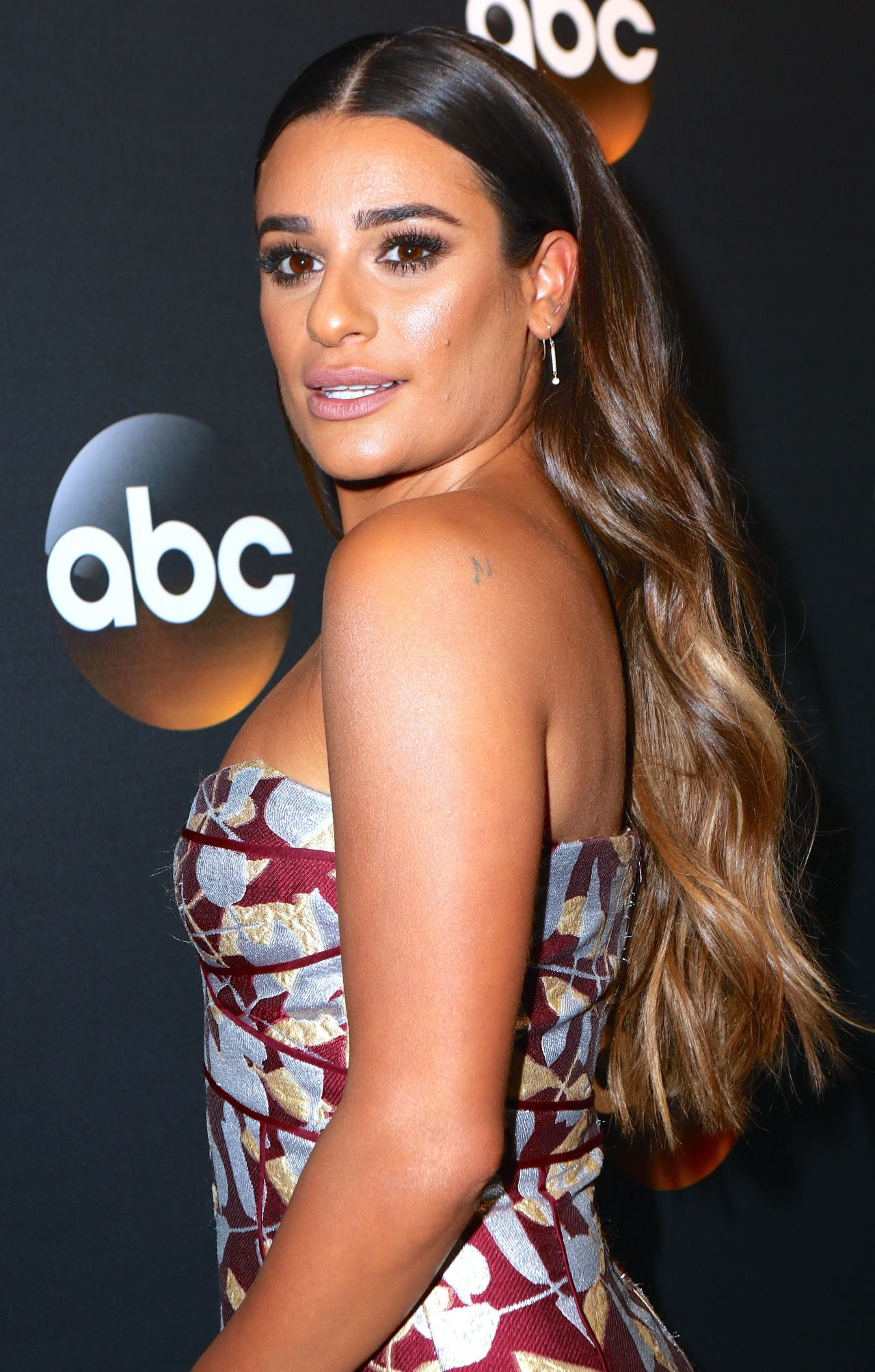Lea Michele - ABC Upfronts Presentation at the Lincoln Center in New York City 05/16/2017
