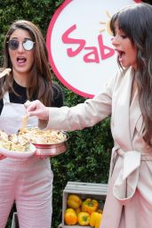 Lea Michele - Sabra Dipping Company Unofficial Meal Event in NYC 5/12/2017