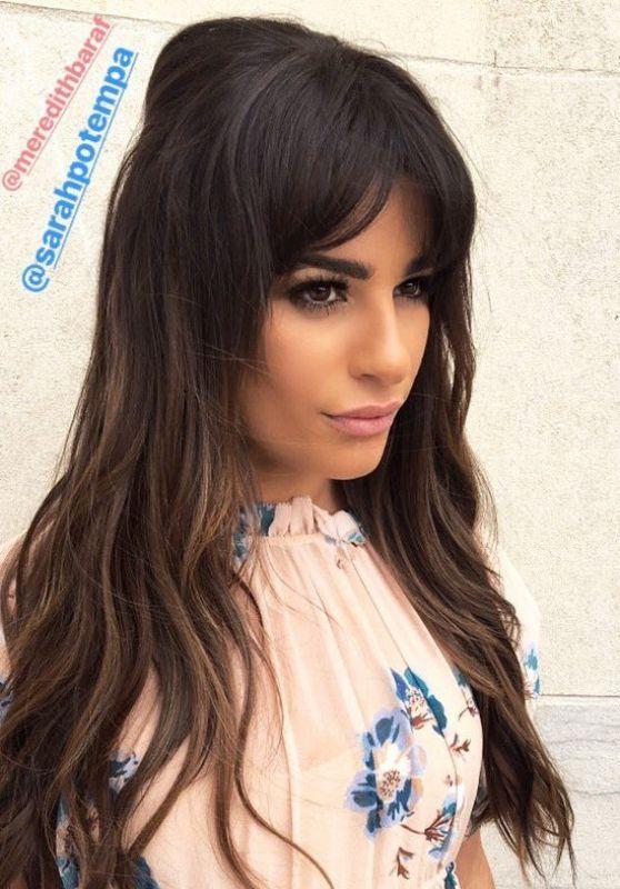 Lea Michele Social Media Pics 05/03/2017
