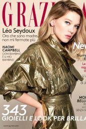 Lea Seydoux - Grazia Italia N.22, May 18, 2017