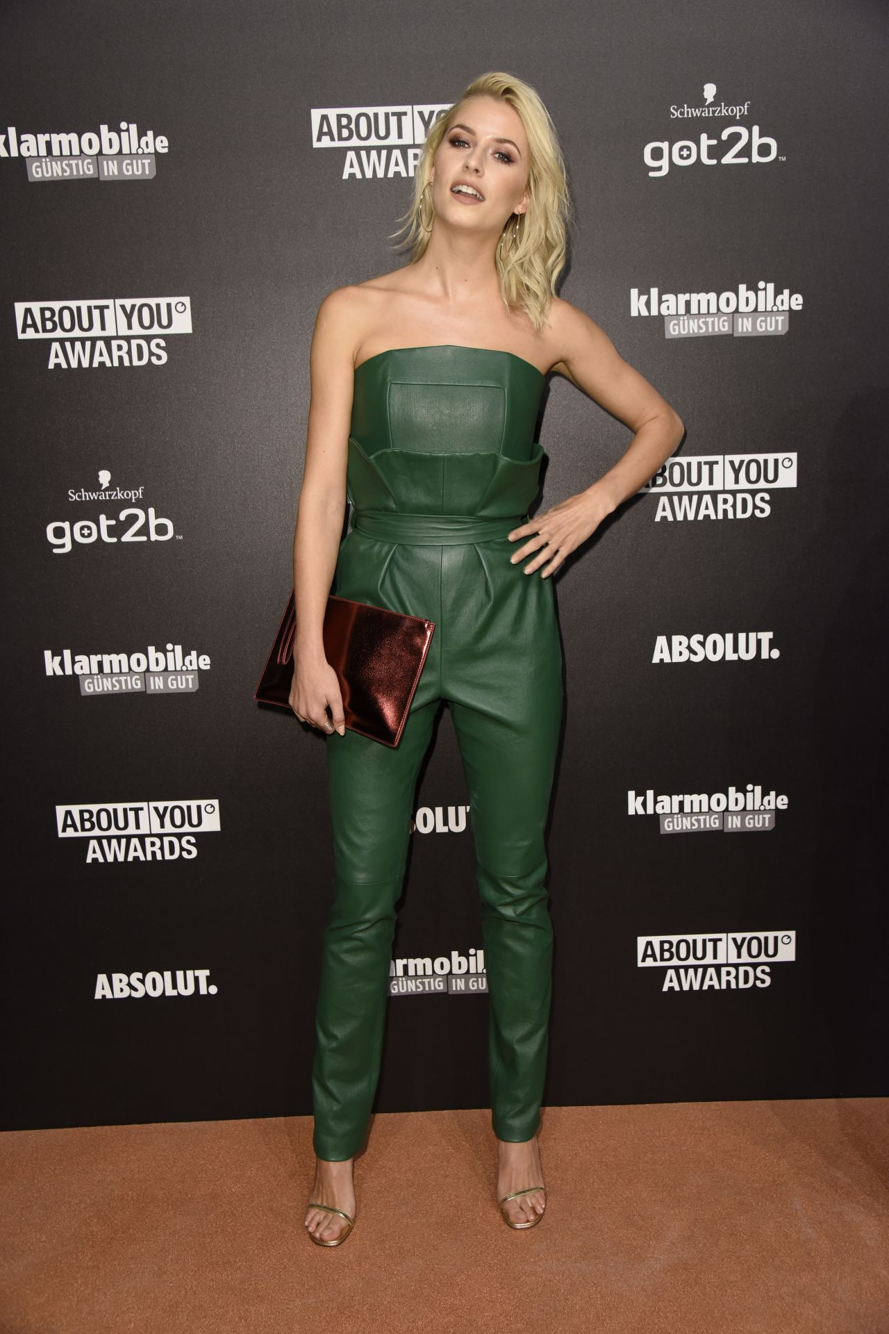 Lena Gercke About You Awards In Hamburg 05 04 2017
