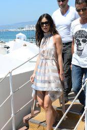 Lena Meyer-Landrut at the Martinez Hotel in Cannes, France 05/24/2017