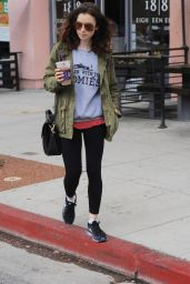 Lily Collins Leaving Her Workout Class - Los Angeles 5/30/2017