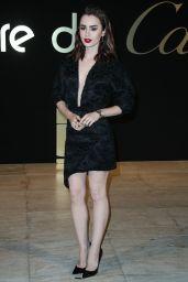 "Lily Collins – ""Panthere de Cartier"" Watch Launch in LA 05/05/2017"