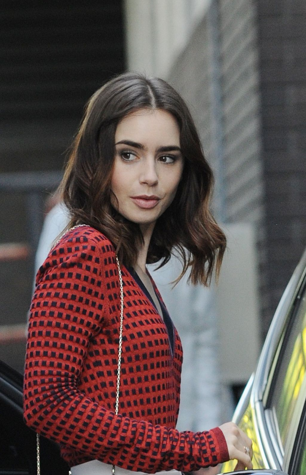 Lily Collins Style And Fashion Inspirations Outside Itv