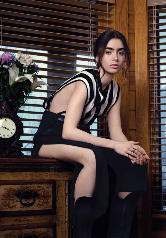 Lily Collins - V Magazine May 2017