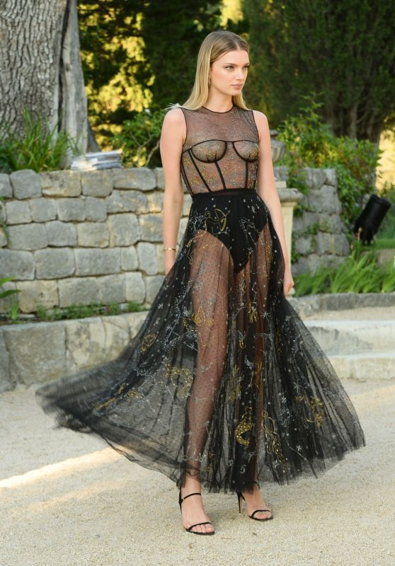 Lily Donaldson – Miss Dior : Dinner in Montauroux, France 05/15/2017