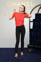 Lily-Rose Depp – Chanel Metiers d'Art 2016/17 Collection in Tokyo 05/31/2017