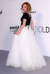 Lindsay Lohan at AmfAR