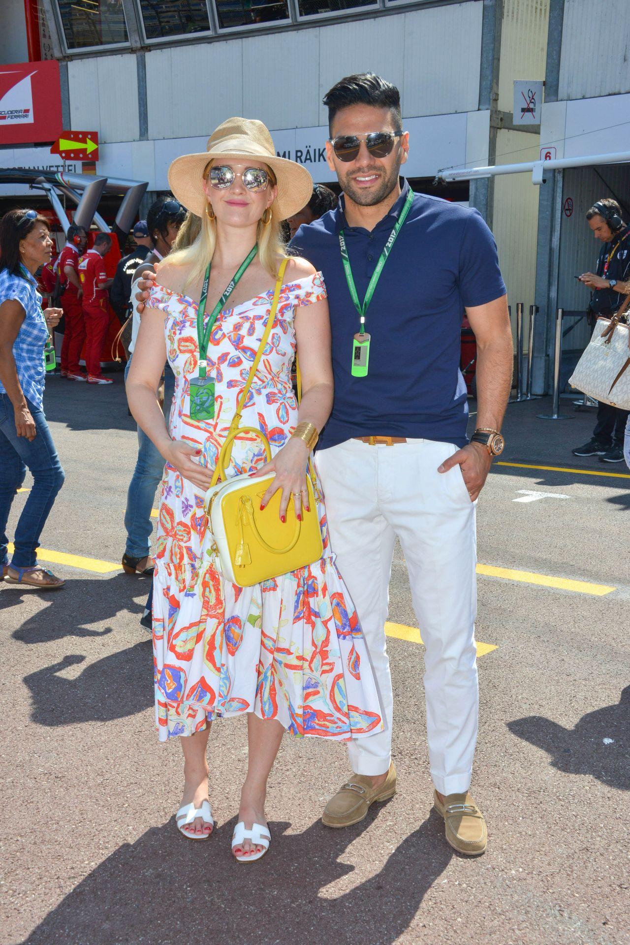 Lorelei Taron Monaco Formula One Grand Prix In Monte
